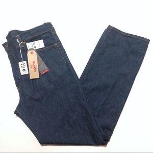 Levi's 505 White Oak Cone Denim Jeans Blue 40x34